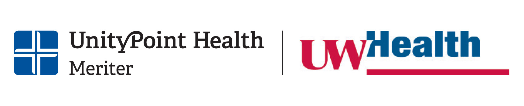 UnityPoint Health - Meriter and UW Health logo